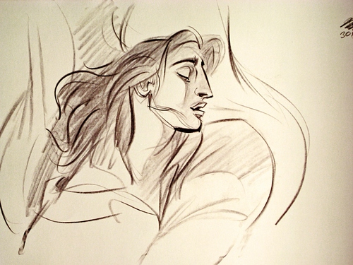 Walt Disney Animation - Prince Adam