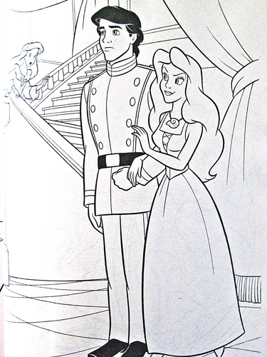 "Vanessa from ""The Little Mermaid"" wallpaper possibly containing anime titled Walt disney Coloring Pages - Vanessa"