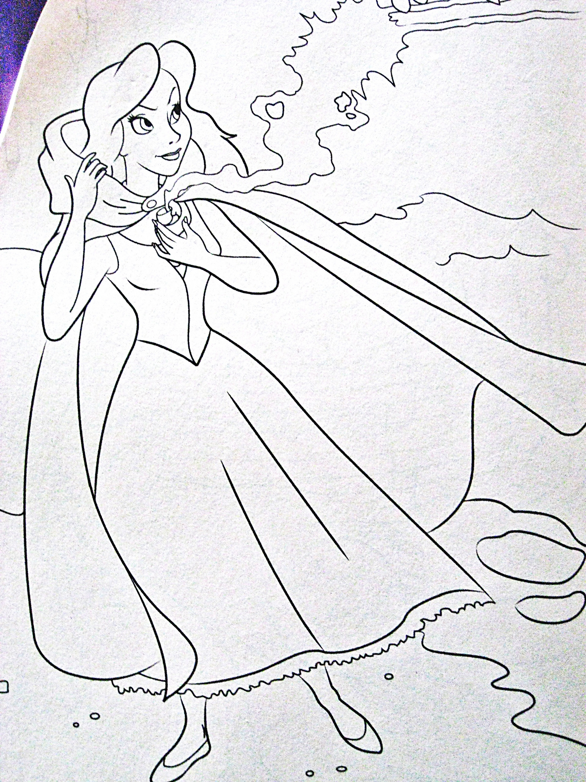 "Vanessa from ""The Little Mermaid"" images Walt Disney Coloring Pages ..."