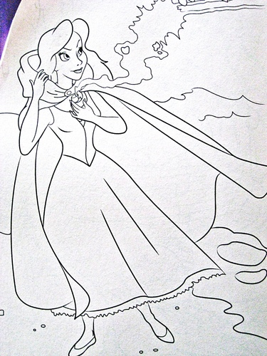 Walt Дисней Coloring Pages - Vanessa