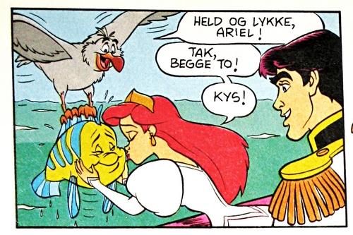 Walt Disney Movie Comics - The Little Mermaid