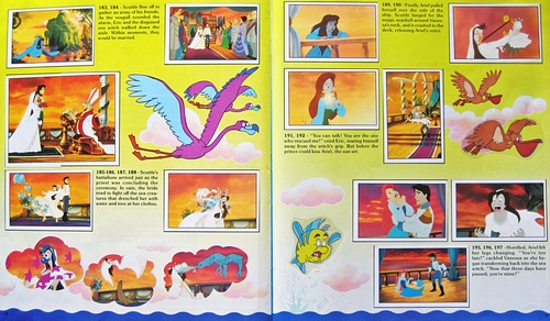 Walt ディズニー Sticker Albums - The Little Mermaid