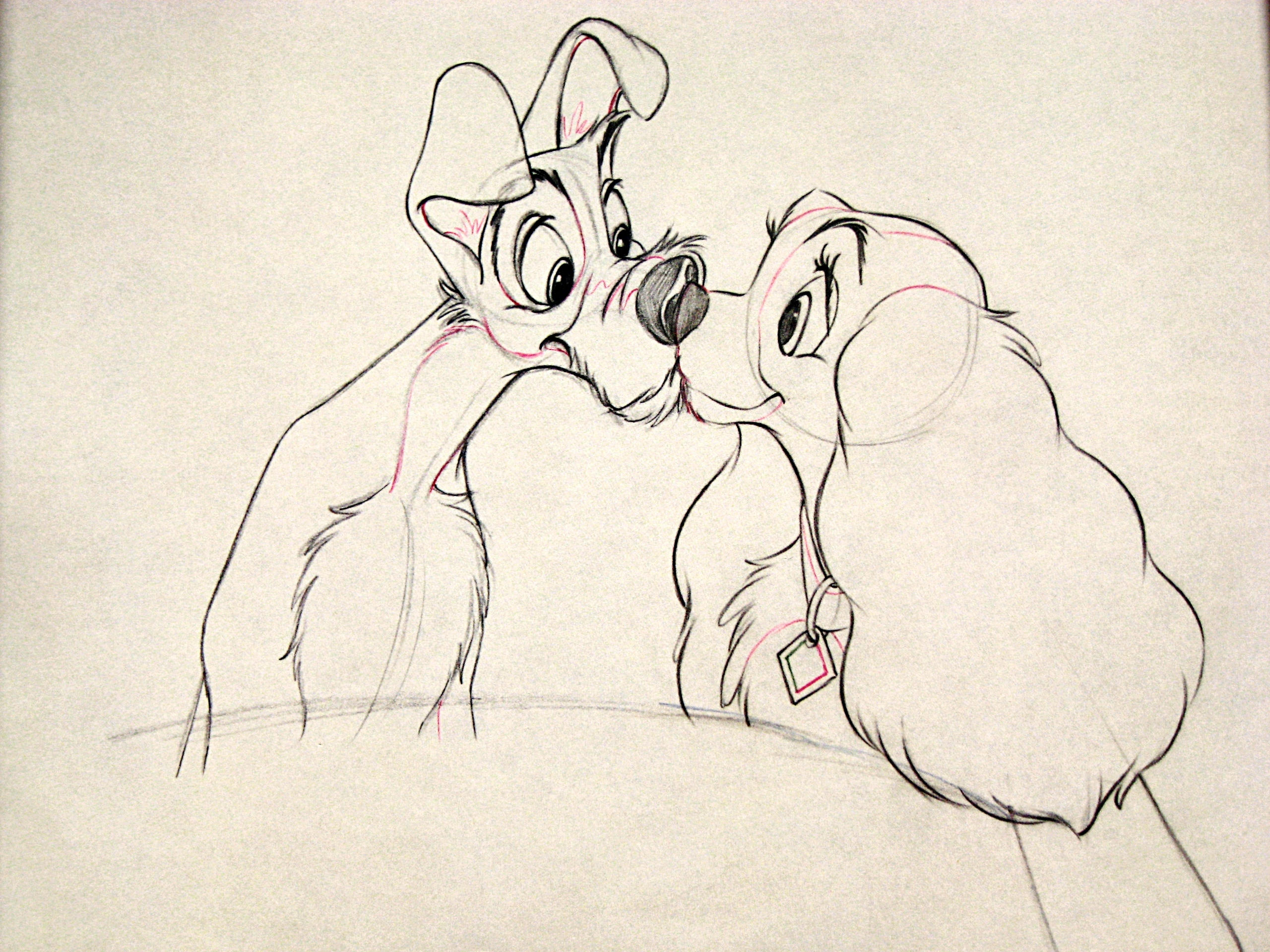 Walt Disney Characters images Walt Disney Sketches - Tramp ...