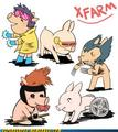 X-Pigs - x-men fan art