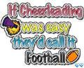 cheer vs. football