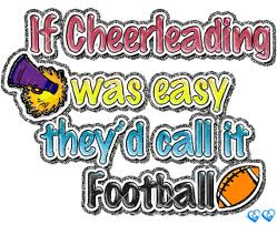 cheer vs. football