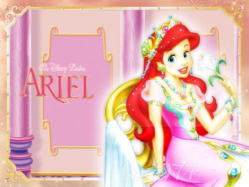 disne lady ariel