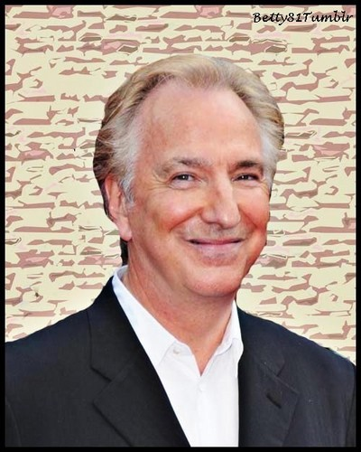 handsome alan rickman
