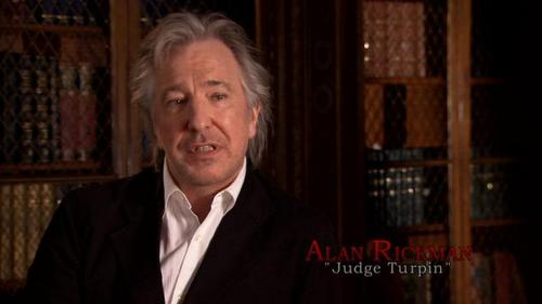 Alan Rickman karatasi la kupamba ukuta with a business suit called hp