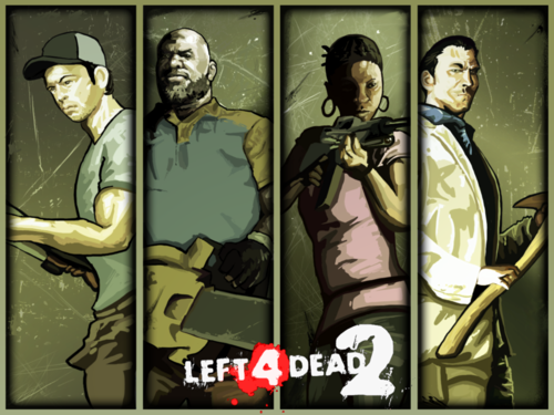 left 4 dead 2 fonds d'écran
