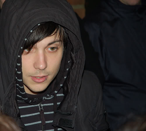 Frank Iero wallpaper probably with a wimple titled ohmyfrank