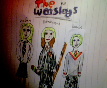 the weasleys(bill)