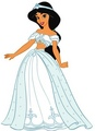 wedding dress - princess-jasmine photo