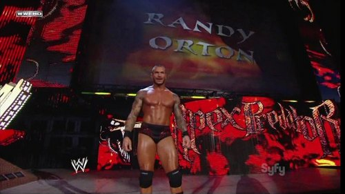 WWE smackdown randy orton august 12th 2011