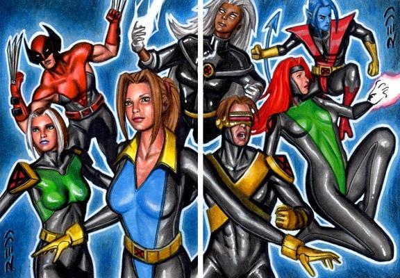 X Men Evolution X Men Fan Art 24541252 Fanpop