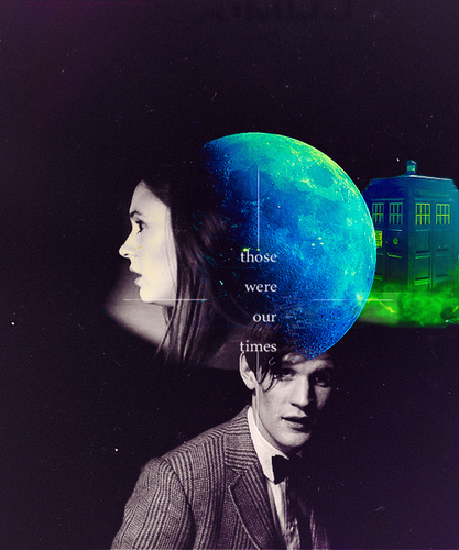 Eleventh Doctor And Amy Pond