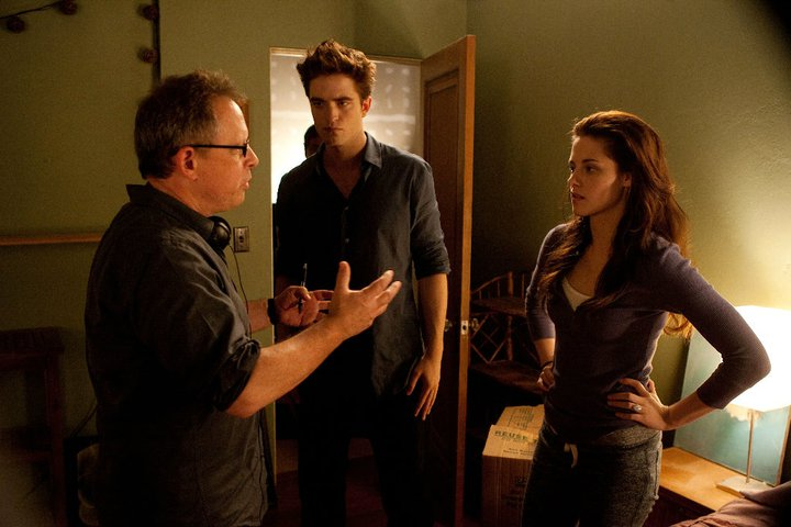 """Breaking Dawn: Part 1"" Behind The Scenes Stills"