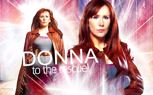 Donna Noble kertas dinding possibly containing a portrait entitled -Donna Noble-