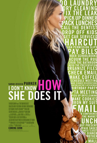'I Don't Know How She Does It' mover Poster