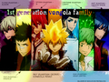 katekyo-hitman-reborn - 1st Generation Vongola Family wallpaper