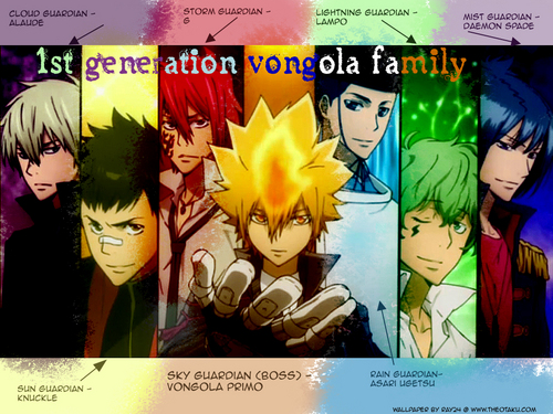 1st Generation Vongola Family
