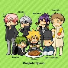chibi 1st Generation Vongola Family