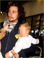 Aaron Johnson &amp; Sam Taylor-Wood: LAX with Wylda Rae! - aaron-johnson photo