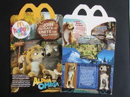 Alpha and Omega McDonalds Box