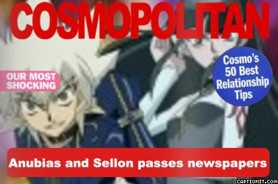 Anubias and Sellon passes newspapers