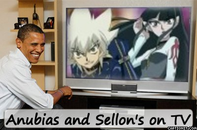 Anubias and Sellon's on TV