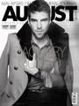 August Man (Malaysia) – September 2011 - zachary-quinto photo