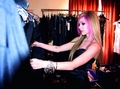 Avril~Behind the scenes of the