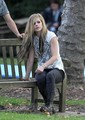 Avril Lavigne Behind The Scenes Of Alice Music Video
