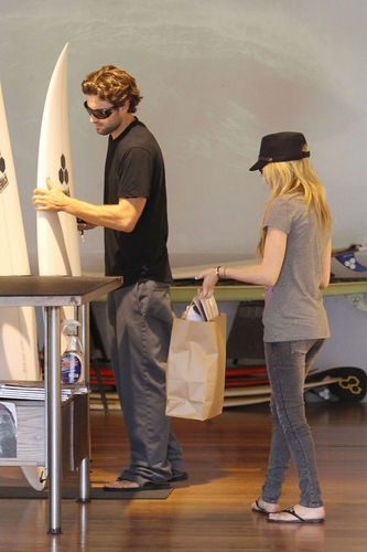 Avril in West Hollywood with boyfriend Brody Jenner-August 19th