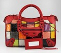 Balenciaga Calfskin Red 228332 Purses