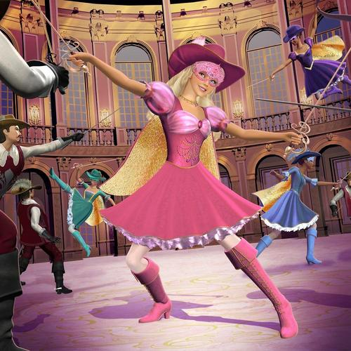 búp bê barbie and The Three Musketeers - Official Stills