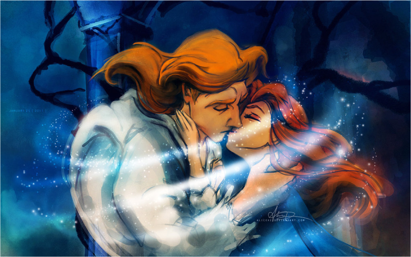 Beauty meets the Beast - Disney Princess Fan Art (24657211 ...