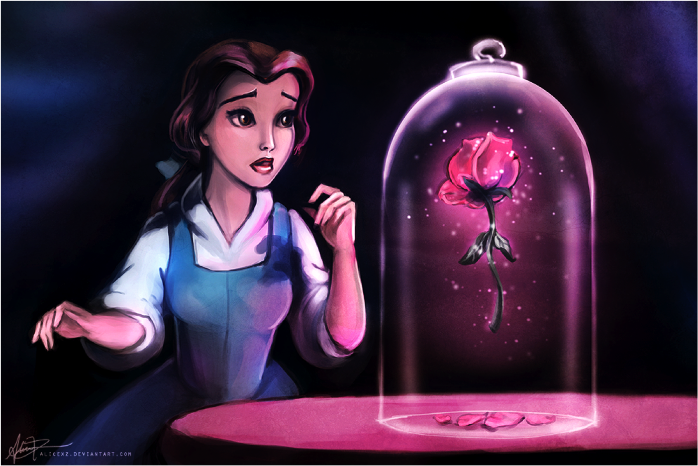 Quotes From Beauty And The Beast About The Rose Disney Princess images...