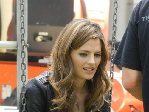 Kate Beckett karatasi la kupamba ukuta with a portrait called Beckett