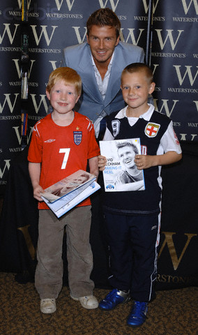 Becks with fans