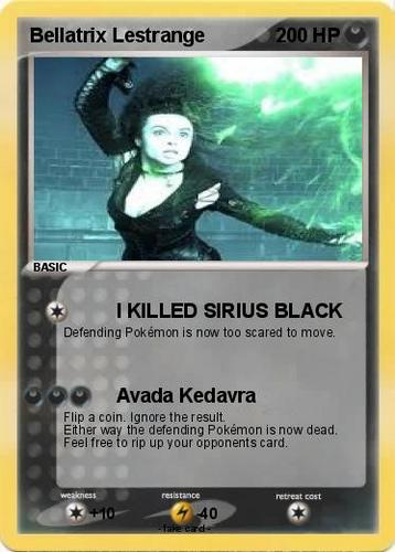 Bellatrix Pokemon Card