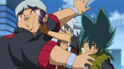 Benkei X Kyoya  - beyblade-metal-fusion Photo