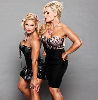 Beth Phoenix and Natalya