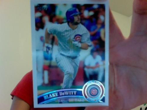 Blake DeWitt Baseball Card