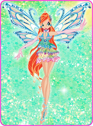 o clube das winx wallpaper called Bloom in Enchantix