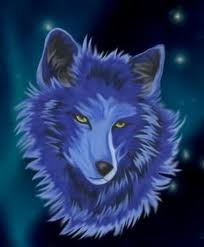 Wolves wallpaper entitled Blue Wolf