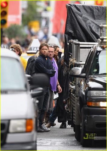 Brad Pitt: Glasgow Becomes Philadelphia
