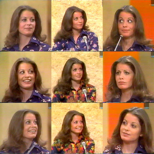 Brianne Leary as a contestant on Match Game