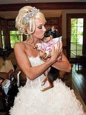 Carrie Underwood with a doggie