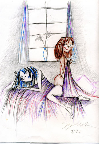 Courtney & Gwen: Two Lilys